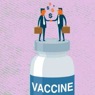 COVID-19 drug and vaccine patents are putting profit before people