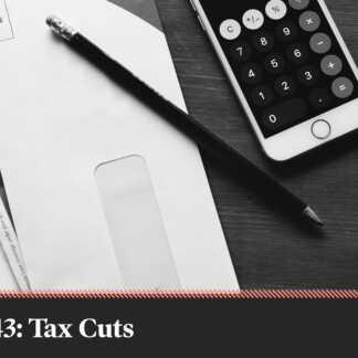 Platform crunch: Liberal and Conservative broad tax cuts