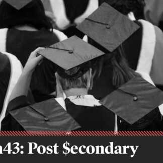 Platform crunch: Addressing the cost of post-secondary education