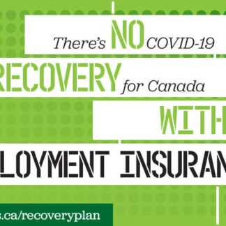 What role will employment insurance play in a Canada's COVID-19 recovery?