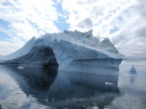 An iceberg in Disko Bay, Greenland