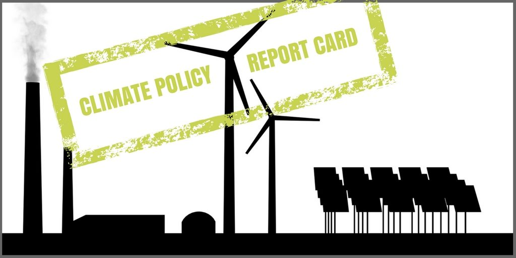 CLIMATE POLICY REPORT CARD