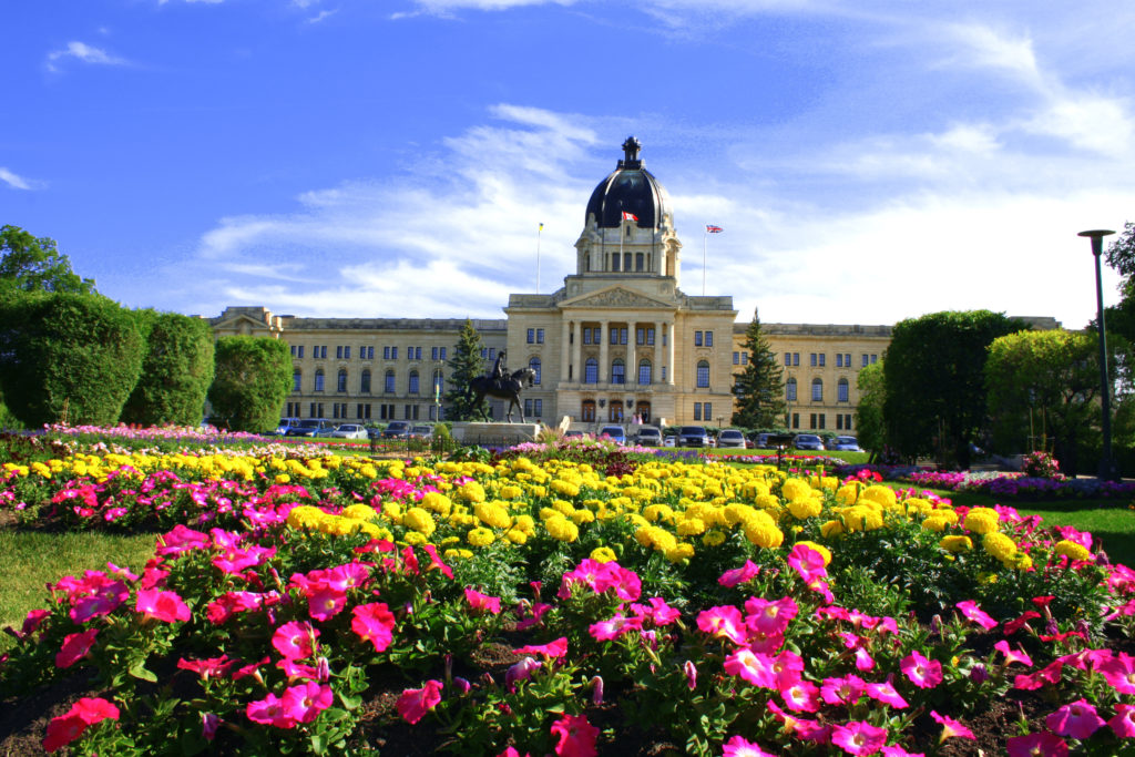 The Saskatchewan Legislative Building is located in Regina, Saskatchewan, Canada, and serves as the seat of the Legislative Assembly of Saskatchewan.