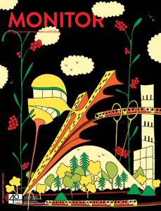 Cover illustration of September/October Monitor